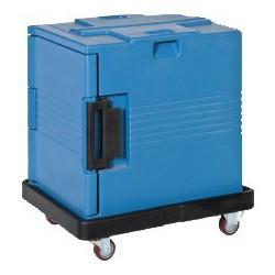 Carro porta contenedor isotérmico gastronorm apertura frontal TCBA-600