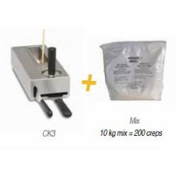 Kit Creperas « Billig » de alto rendimiento CK3