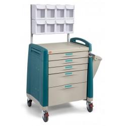Carro de medicación y anestesia mod. TRA-02