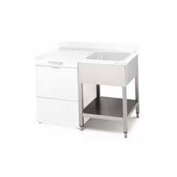 Bastidor para lavavajillas 1800x600 FLS-618 D/I (sin estante) para encimeras 5898618/5899618