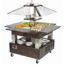Buffet isla central 4GN 1/1 SBC 40 F