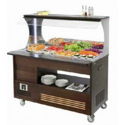 Salad?bar mural 4 GN 1/1 SBM 40 M