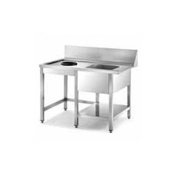 Mesa prelavado izquierda MPI-1500 para P/X/S/SRC-1800